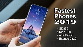 Antutu's Top 10 World Fastest Phones [March 2019]
