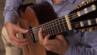 Matt Peters plays Tarrega Prelude no. 5