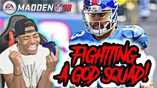 Legend QB Warren Moon Vs God Squad! | Madden 18 Ultimate Team Gameplay | MUT 18