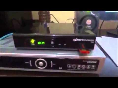 Como transformar Azbox Bravissimo Clone em Tocomfree Florindo Novamente os HDs