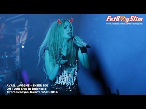 Baixar AVRIL LAVIGNE - SK8ER BOI Live in Jakarta, Indonesia 2014