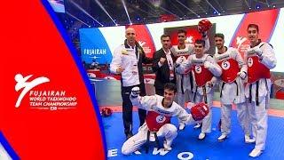 Fujairah 2018 WT Team Championship [Male Team Final] RUS vs IRI