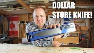 Whetstone Sharpening the Worlds Cheapest Knife