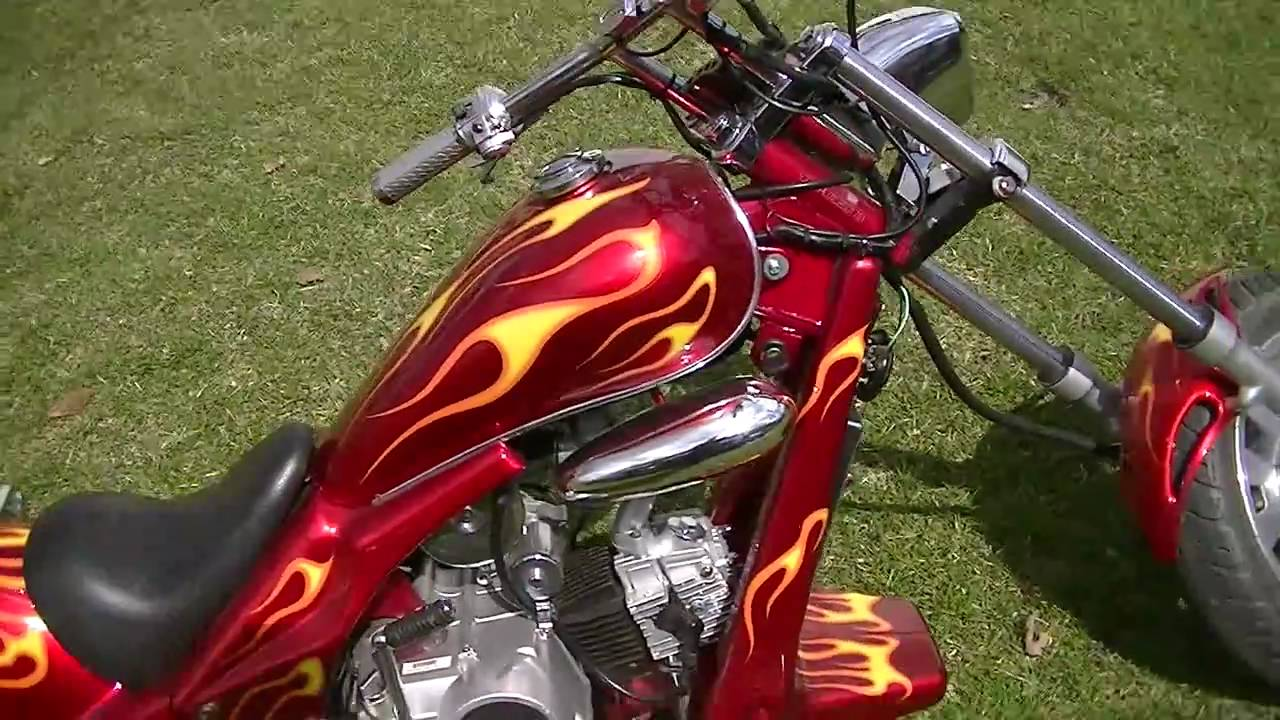 110cc Mini Chopper Wiring Diagrams 110 Diagram My Youtube Street Legal