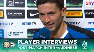 INTER 1-0 UDINESE | SENSI + DE VRIJ + GAGLIARDINI + ASAMOAH INTERVIEWS [SUB ENG]