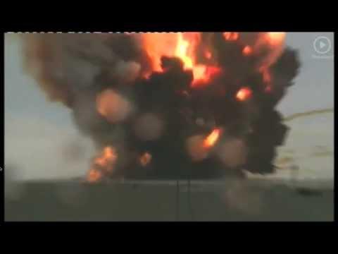Rosyjska rakieta eksplodowała!