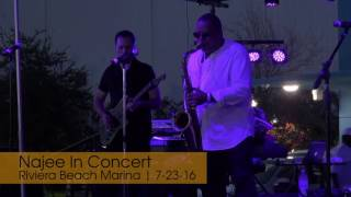 Najee Performs in Riviera Beach (Full Concert) | Palm Beach Beat | 7-23-16