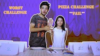 PIZZA CHALLENGE *FAIL* (worst challenge ever)