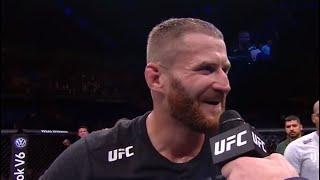 UFC São Paulo: Jan Błachowicz and Jacare Octagon Interview