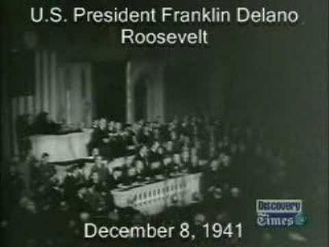the day of infamy speach Franklin d roosevelt's day of infamy speech to the congress of the united states: yesterday, december 7, 1941 -- a date which will live in infamy -- the united states of america was suddenly and deliberately attacked by naval and air forces of the empire of japan.