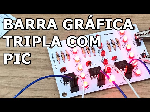 MONTE UMA BARRA GRÁFICA TRIPLA COM PIC!