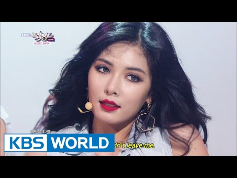 HyunA - Red / Black List | 현아 - 빨개요 / 블랙리스트 [Music Bank COMEBACK / 2014.07.25]