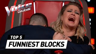 MOST HILARIOUS BLOCK Auditions in The Voice