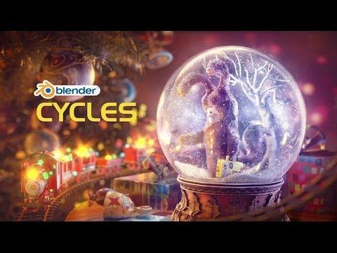 Демонстрационный ролик Blender 2014 Циклы Деморил