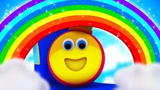 Rainbow Colors Song | Nursery Rhymes Songs For Kids | Baby Song By Bob The Train