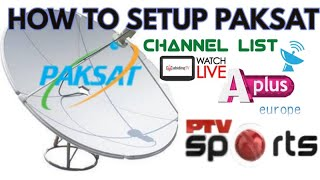 How To Geo Network | Changing TP On Paksat 38e 2019 - Saeed Online