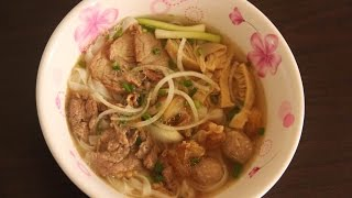 Vietnamese Special Beef Noodle Soup - Phở Đặc Biệt