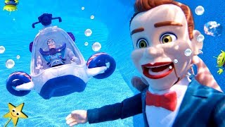 Can Buzz Rescue His Friends From Benson The Dummy's Alien Island Jail?