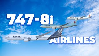 Which Airlines Fly The Boeing 747-8i?