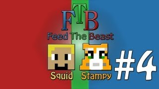 Feed The Beast #4 - Stuck In A Hole! - W Stampylongnose