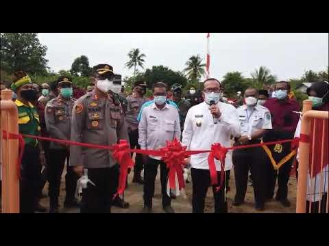 Peluncuran Kampung Tangguh Anti Narkoba Desa Rasau Jaya Umum