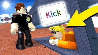 IF I SEE YOU, I KICK YOU! (Roblox Jailbreak)