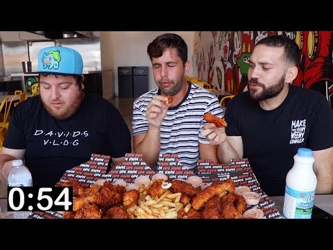 WHO CAN EAT THE MOST HOT CHICKEN?! 1,000,000 Scoville heat units!