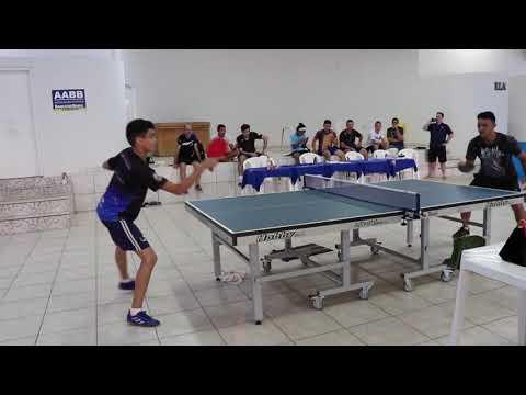 8° Torneio de Tênis de Mesa na AABB-Ji-Paraná apoio Friocenter