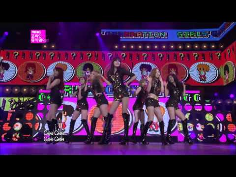 【TVPP】SNSD - Gee, 소녀시대 - 지 @ Korean Music Wave in Google Live
