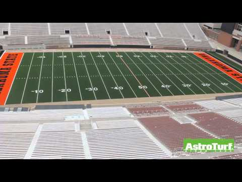 Oklahoma State Boone Pickens Stadium Time Lapse Video