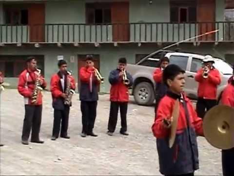BANDA ORQUESTA SANTA CRUZ  HUARI ANCASH  Y RADIO LLATA.
