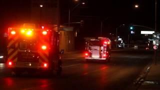 City of Yuma Ambulance & Fire Department Respond to Call, 300 S. 4th Avenue, Yuma, Arizona