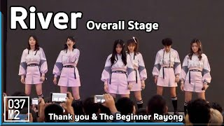 190512 BNK48 - River [Overall Stage] @Thank you & The Beginner Rayong [4K 60P]