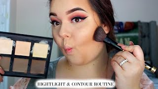 Highlight & Contour Routine | Round Face Friendly