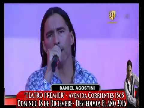 Daniel Agostini Pasion de Sabado 29-10-2016