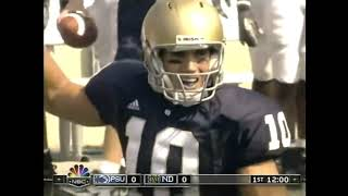 #NDWatchParty | Notre Dame Football vs. Penn State (2006 Full Game)