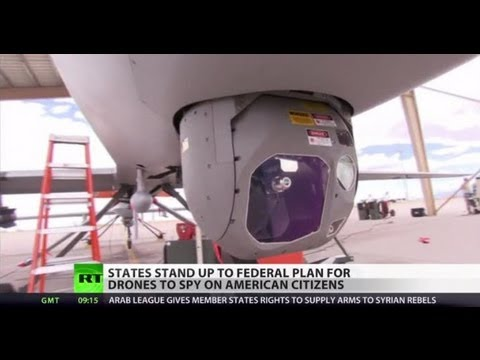Smile & Wave! Fed pushes big bro drones despite pu