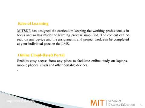 Next Gen Learning | Online Learning Courses in Management | MIT School Of Distance Education