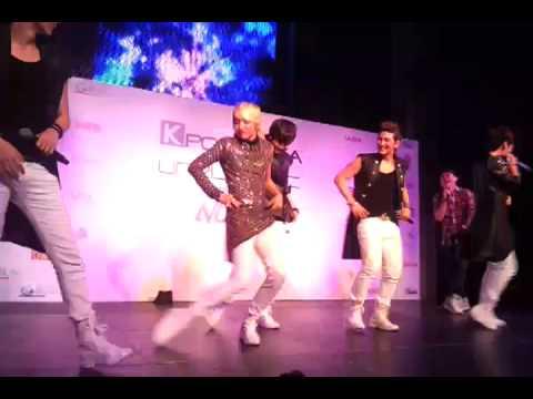 NU'EST dancing Gangnam Style (it's totally Ren's Style) - NU'EST Showcase Singapore 121026