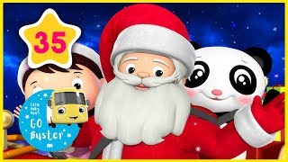 Wheels on the Sleigh   Little Baby Bus   Christmas Nursery Rhymes   Songs for Kids