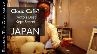 Cloud Cafe, a strange Japanese coffee experience in Kyoto, Japan