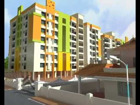Haritha Palms Luxury Apartments in Thrissur