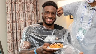 All-Access: Birthdays, Haircuts, Golf & Practice In The NBA Bubble