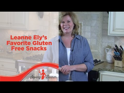 Gluten Free Snacks by Leanne Ely of Saving Dinner