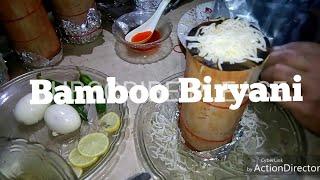 Rice in bamboo