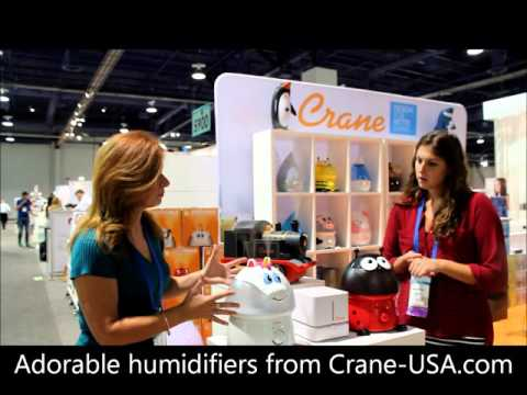 I love these ADORABLE humidifiers from Crane!!