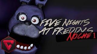 FIVE NIGHTS AT FREDDY'S 1: NOCHE 1 - BONNIE ME VIGILA | iTownGamePlay (Night 1)