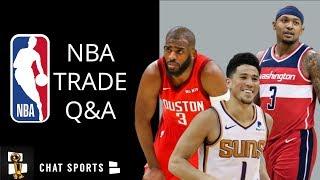 Bradley Beal, Devin Booker Trade, Chris Paul And Raptors Selling   NBA Trade Rumors Mailbag