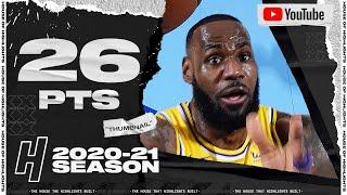 LeBron James 26 Points Full Highlights vs Rockets | January 12, 2021 | 2020-21 NBA Season