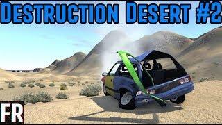 BeamNG Drive - Destruction Desert #2